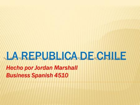 Hecho por Jordan Marshall Business Spanish 4510