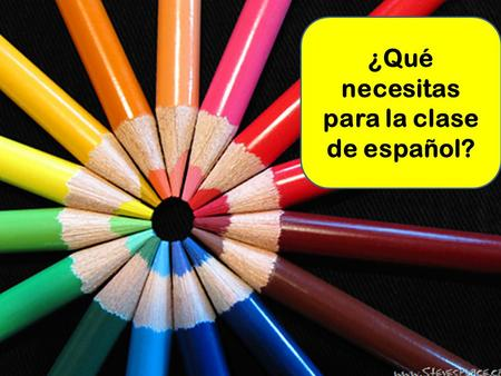 ¿Qué necesitas para la clase de español?.  video_id=128075&title=01025_Spanish_Lesso n_Nouns_Definite_Articles.