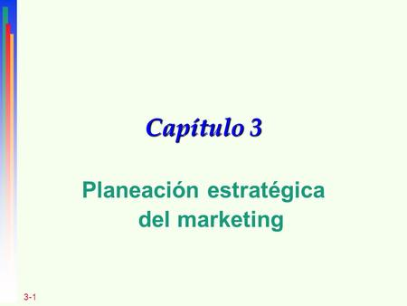 Planeación estratégica del marketing