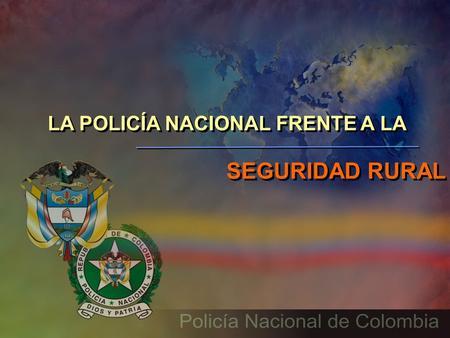 Rep blica de colombia ministerio de transporte polic a for Ministerio policia nacional