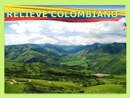 RELIEVE COLOMBIANO.