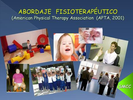 ABORDAJE FISIOTERAPÉUTICO (American Physical Therapy Association (APTA, 2001) SMCC.