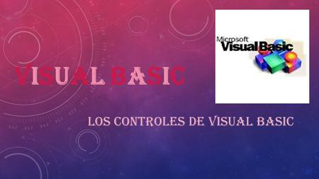 Los Controles de Visual Basic