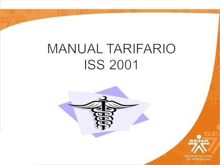 MANUAL TARIFARIO ISS 2001.