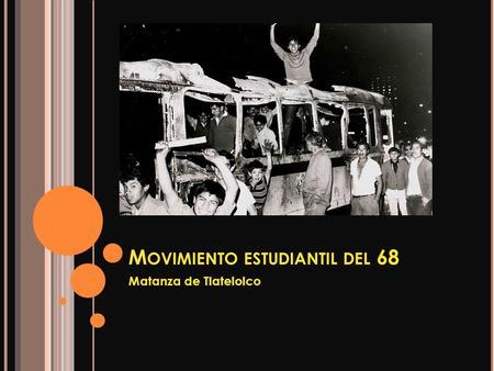Movimiento estudiantil del 68