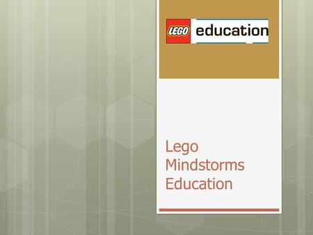 Lego Mindstorms Education