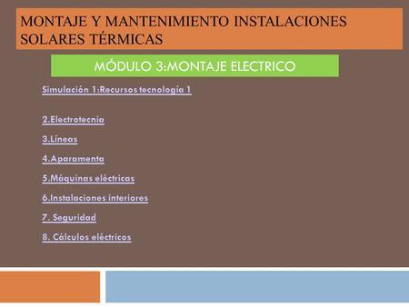 Secuencia De Montaje Instalacion Fotovoltaica Sobre