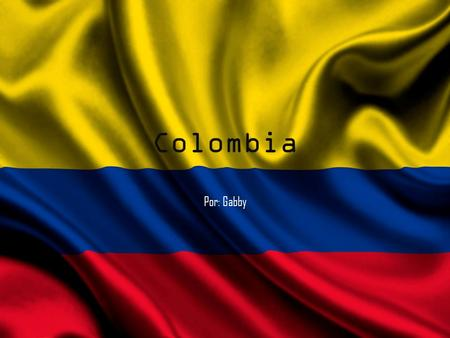 Colombia Por: Gabby. Colombia's Currency Columbia's currency is pesos. It takes $1,884.00 in pesos to equal one US dollar.