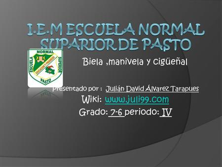 I.E.M ESCUELA NORMAL SUPARIOR DE PASTO
