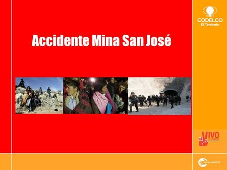 Accidente Mina San José