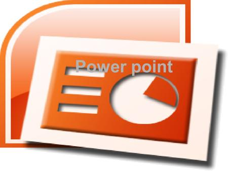Power point. Qué significa power point Power: que en inglés significa poder Point: que en ingles significa punto En español significa poder del punto.
