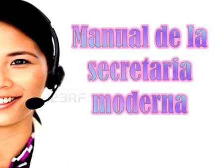 Manual de la secretaria moderna