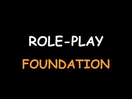 ROLE-PLAY FOUNDATION You are at the train station For help with the vocab, click herehere Say what sort of ticket you want Quiero un billete de ida y.
