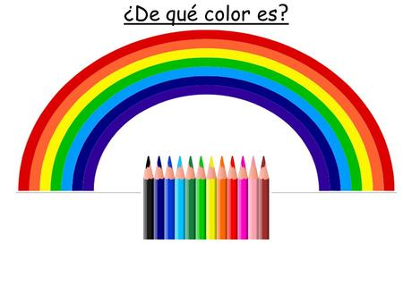 ¿De qué color es?.