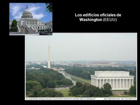 Los edificios oficiales de Washington (EEUU). William Thornton, Benjamin Henry Latrobe, Charles Bulfinch, Thomas U. Walter, Montgomery C. Meigs (1793-1865)