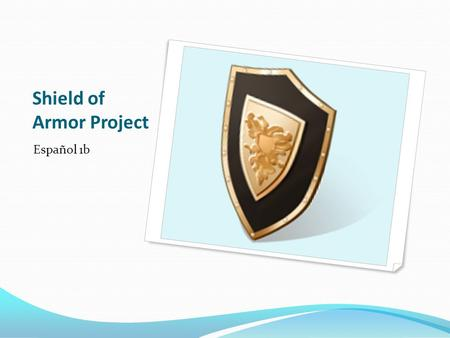 Shield of Armor Project