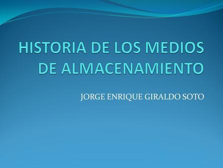 Jorge enrique giraldo soto introduccion los avances tecnol 243 gicos que