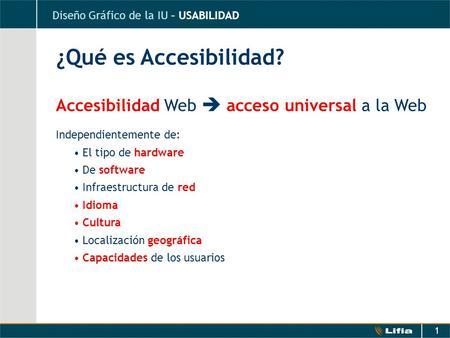 Accesibilidad web introducci n qu es la accesibilidad for Que es accesibilidad