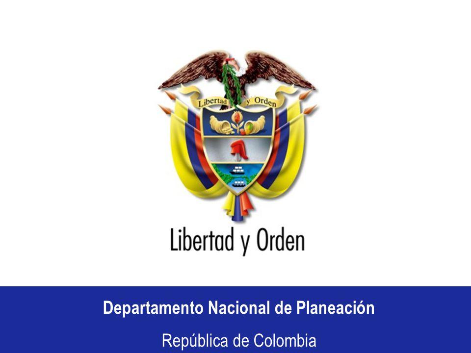Departamento Nacional de Planeación República de Colombia Departamento Nacional de Planeación República de Colombia CONSEJO COMUNAL BOYACA