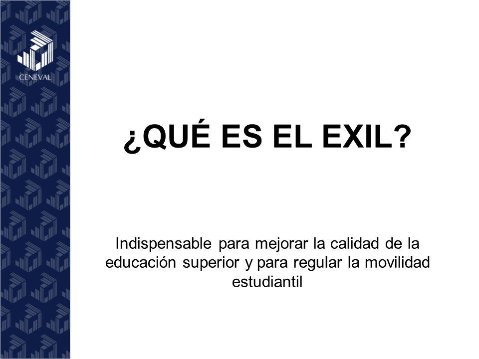 ¿QUÉ ES EL EXIL.