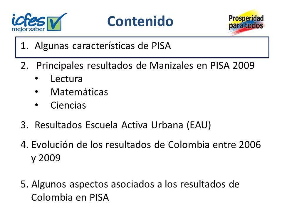 ¿Qué es PISA.- Programa Internacional de Evaluación de Estudiantes.