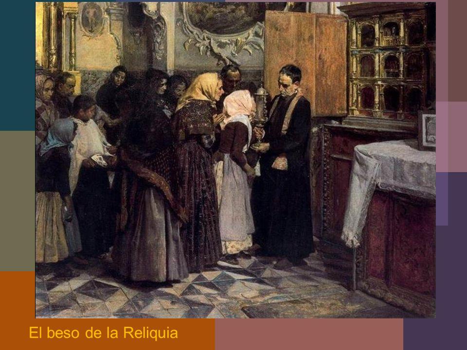 El beso de la Reliquia