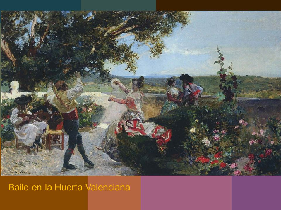 Baile en la Huerta Valenciana
