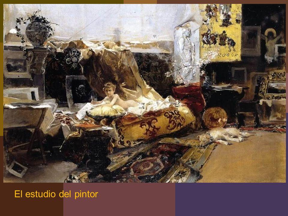 El estudio del pintor