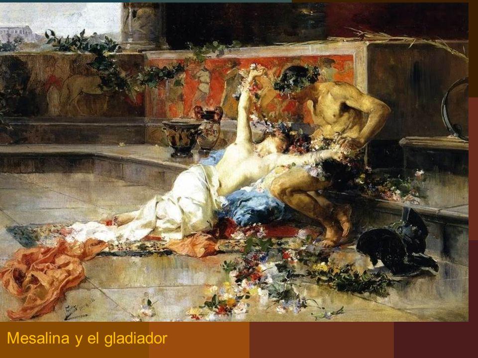 Mesalina y el gladiador