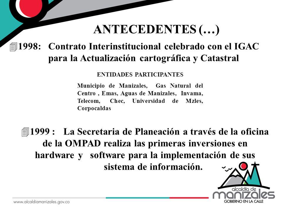42002 : La Microzonificación Sísmica de la ciudad de Manizales ANTECEDENTES (…)
