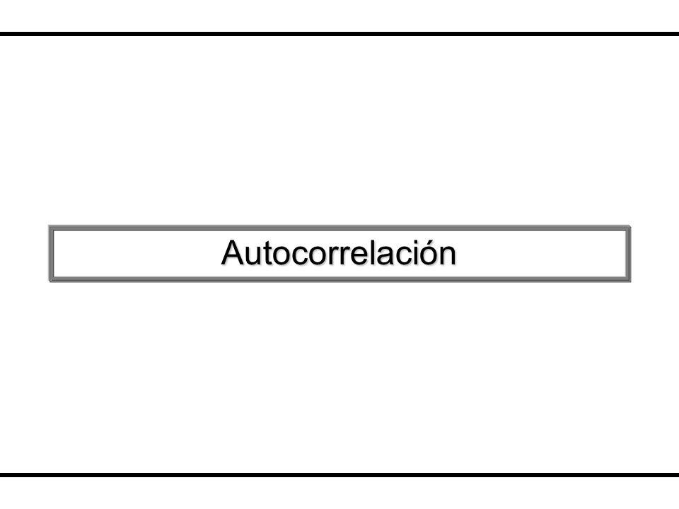 Taller de Econometría Horacio Catalán Alonso Econometría No existe autocorrelación en le término de error que sucede si Se afecta la matriz de varianza y covarianza de los errores