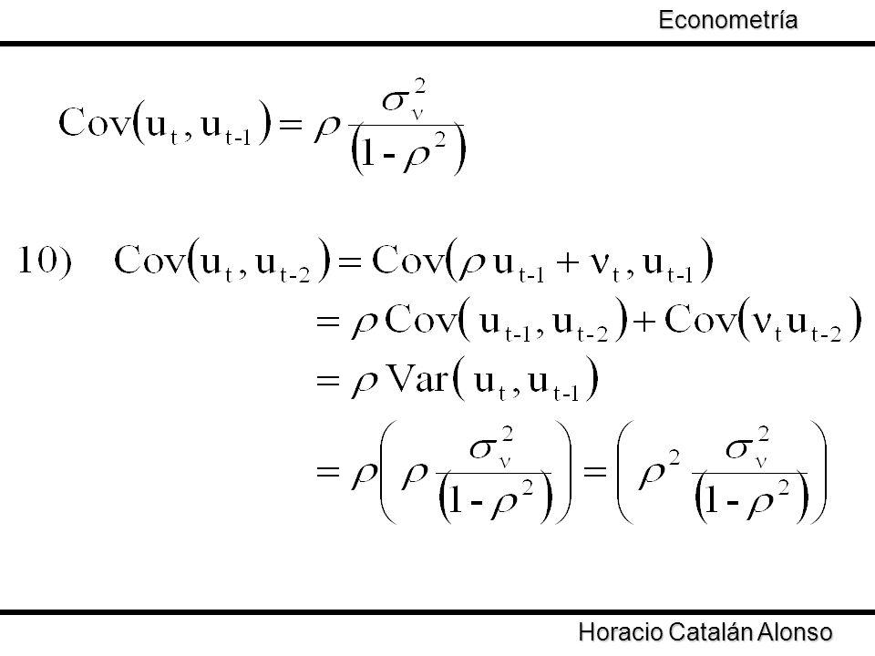 Taller de Econometría Horacio Catalán Alonso Econometría De manera general Se define El coeficiente de correlación se define como