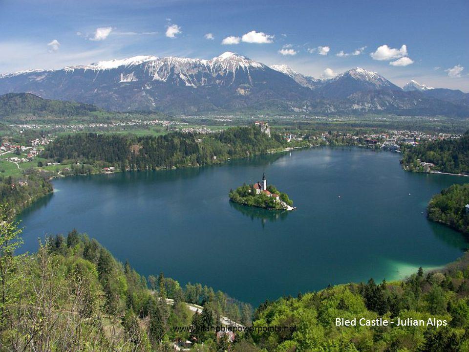 www.vitanoblepowerpoints.net Bled Castle - Julian Alps
