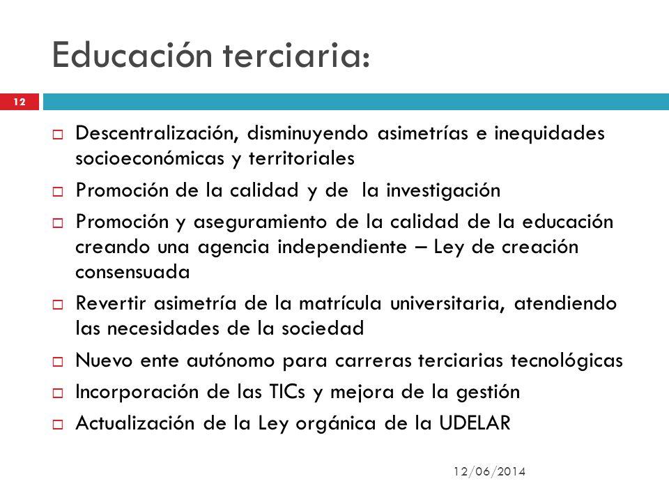 Ley de educación Nº 18.437: 12/06/2014 13 Complementar el concepto de laicidad establecido en el art.