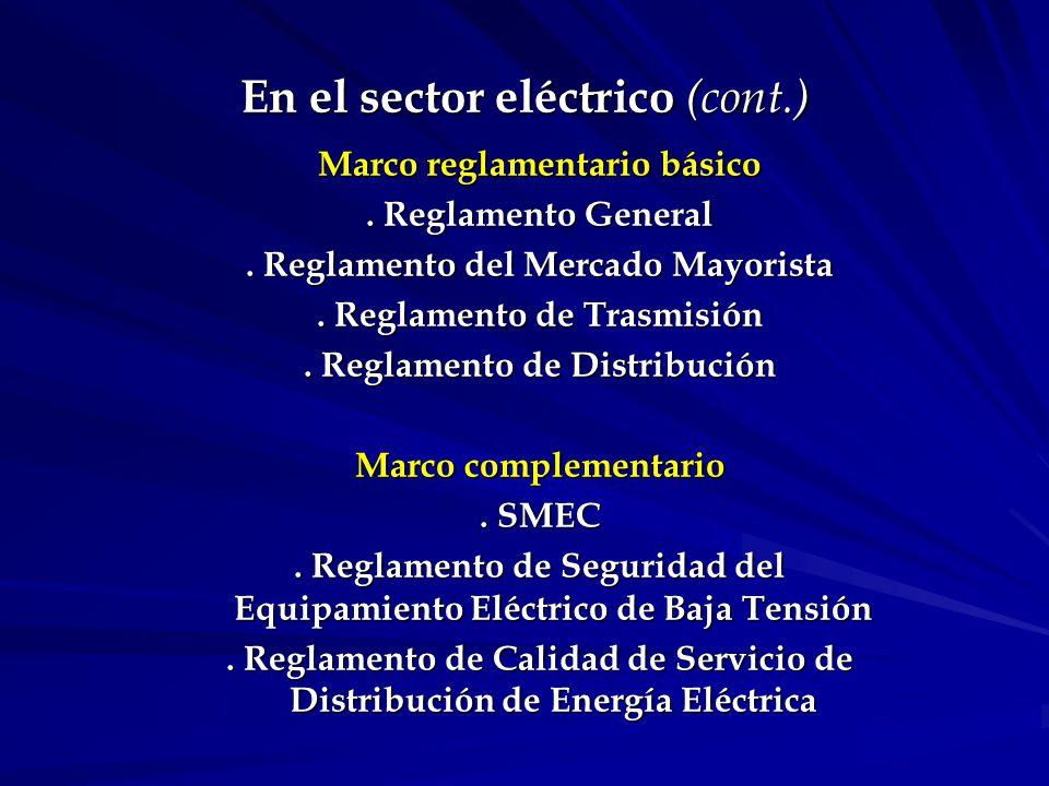 Reglamento de Calidad de Servicio de Distribución (RCSDEE) Consulta pública, aprobación, publicación y desarrollo del sistema de datos.