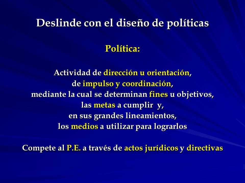 Principio de separación de roles del Estado.