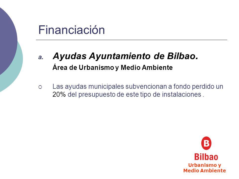 Financiación b.Ayudas Gobierno Vasco.