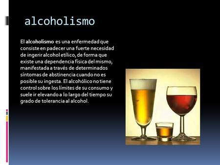 Los diuréticos al alcoholismo