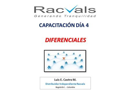 Distribuidor Independiente Racvals
