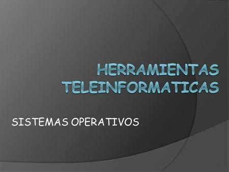 SISTEMAS OPERATIVOS IOS DESARROLLADO POR: APPLE INCORPORATED.