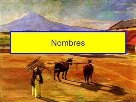 Nombres. Decide if the following names are more typically Spanish or English.