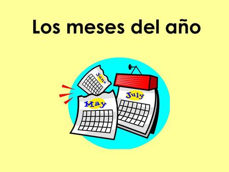 Los meses del año. Información The Spanish way is to write the day + month + year. It's different from the American way (month + day + year). The formula.