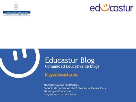 Educastur Blog Comunidad Educativa de blogs blog.educastur.es