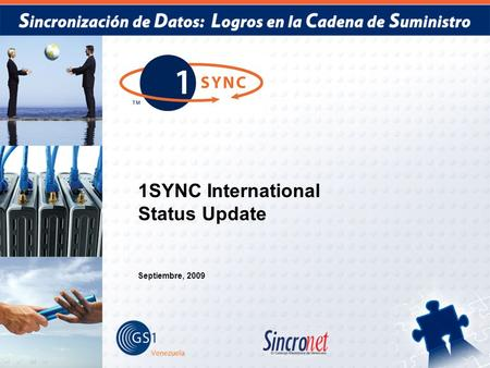 1SYNC International Status Update Septiembre, 2009.
