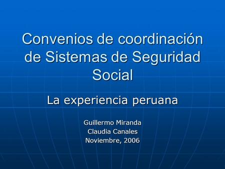 Oficina internacional del trabajo ministerio de trabajo y for Oficinas de la seguridad social en valencia