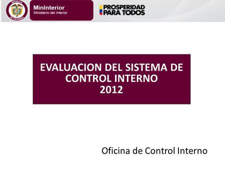 actualizaci n modelo est ndar de control interno meci