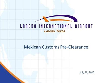 Mexican Customs Pre-Clearance