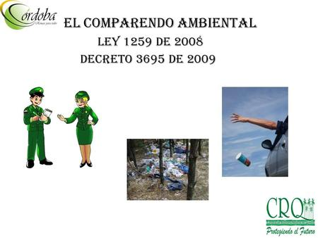 EL COMPARENDO AMBIENTAL
