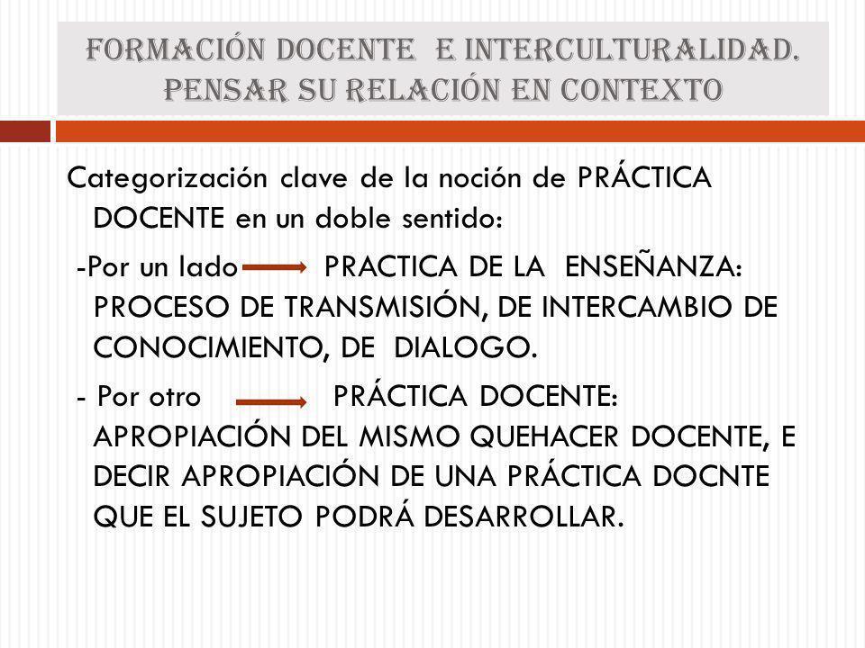 Diferencia ENTRE PRÁCTICA S: PRÁCTICA PEDAGÓGICA: hace referencia a es práctica que se desarrolla en el contexto del aula dada por la relación docente- estudiante y se configura en torno al trabajo con los conocimientos.
