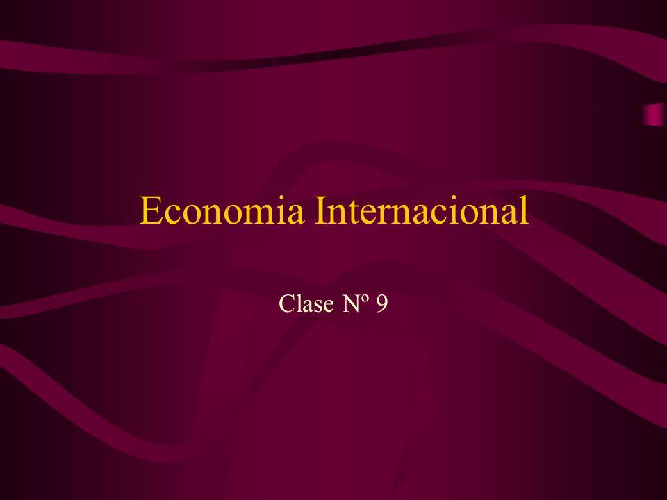 Modelo de Factores Específicos Se puede considerar un caso especial del modelo estándar.